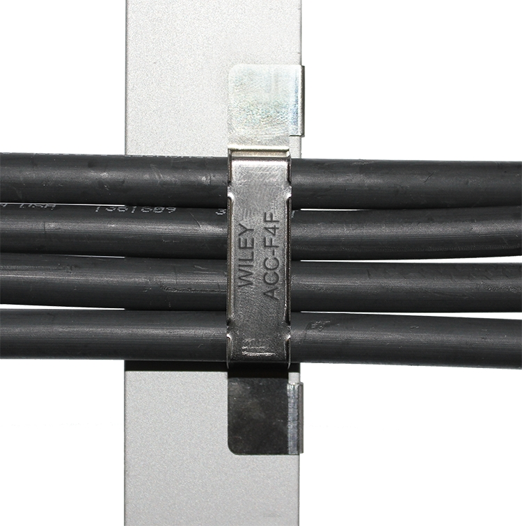 Burndy adds PV wire management clip to Wiley line ... on