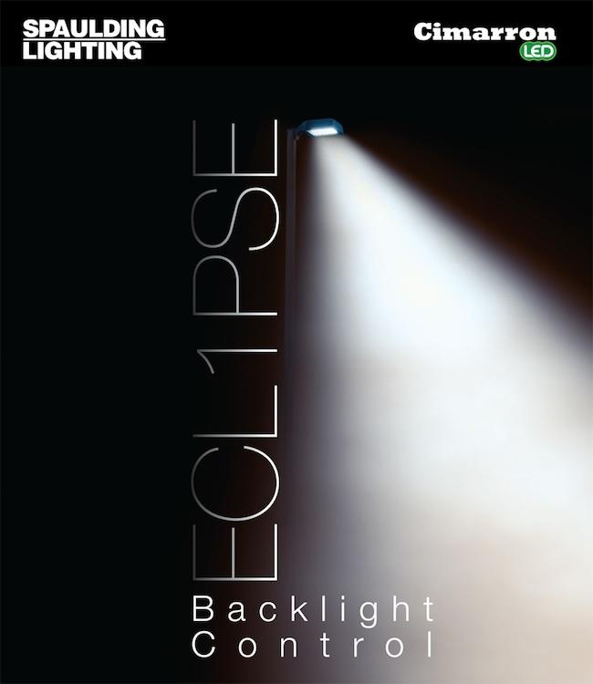 Spaulding Lighting Ecl1pse Backlight Control System
