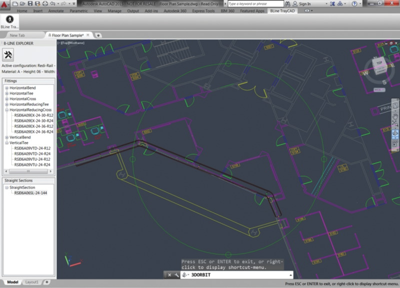 Eaton Offers Design Software Traycad For Cable Tray