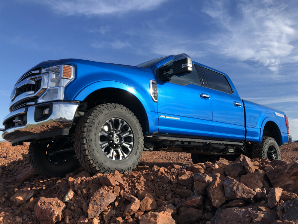 Ford Super Duty shows its capability in the desert