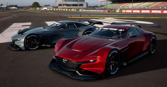 Gran Turismo Sport Introduces New MAZDA RX-Vision GT3 Concept
