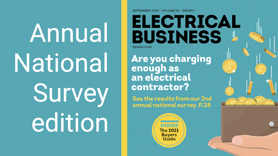 Are you charging enough as an electrical contractor? 2020 SURVEY Results